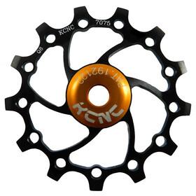 KCNC Jockey Wheel Original SS Bearing Long Teeth 14 Zähne black